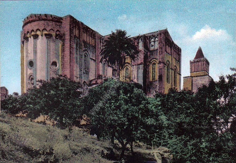 Cefalù - Cattedrale da tergo