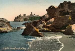 Cefalù - La scogliera alla Caldura